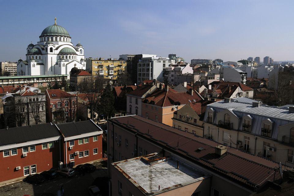 Una magnifica cupola verde, Il tempio di Santo-Sava, I monumenti e le passeggiate, Serbia