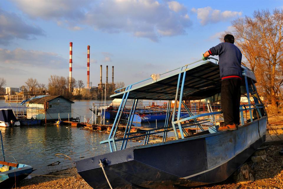 L'île Ada , La naturaleza a las puertas de Belgrado , Serbia