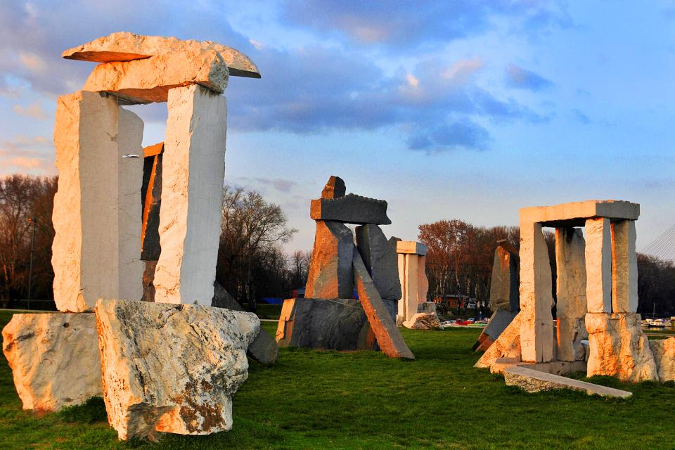 L'île Ada , ¿Stonehedge? ¡No, Belgrado! , Serbia