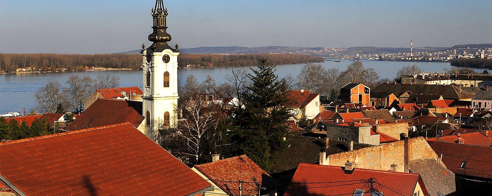 Zemun, Los monumentos y los paseos, Serbia
