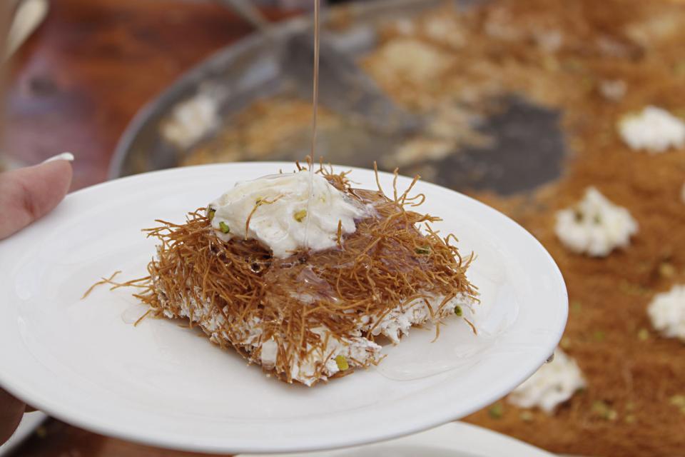 La cuisine libanaise , Lebanon