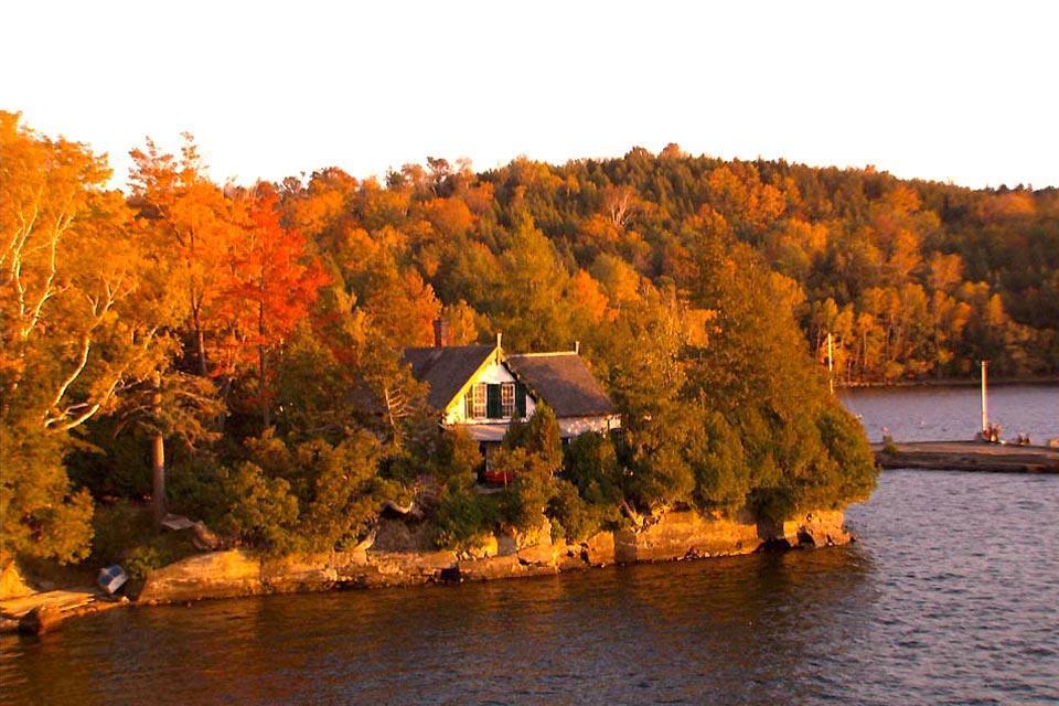 Les cantons de l'Est , Le lac Memphrémagog , Canada