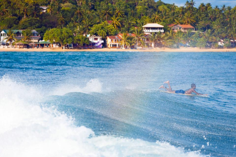 La côte Sud , Sri Lanka