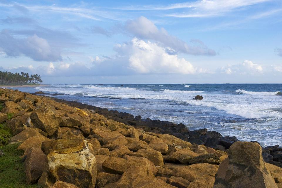 Die Südküste , Sri Lanka
