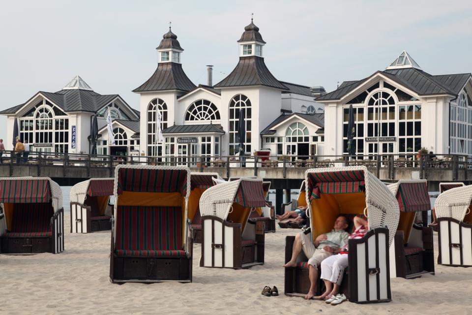 Rügen , Der Strand von Binz , Deutschland