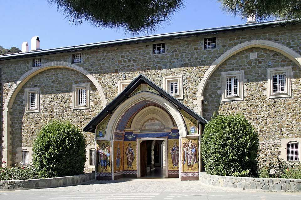 Le monastère de Kykkos , Monastery of Kykkos , Cyprus