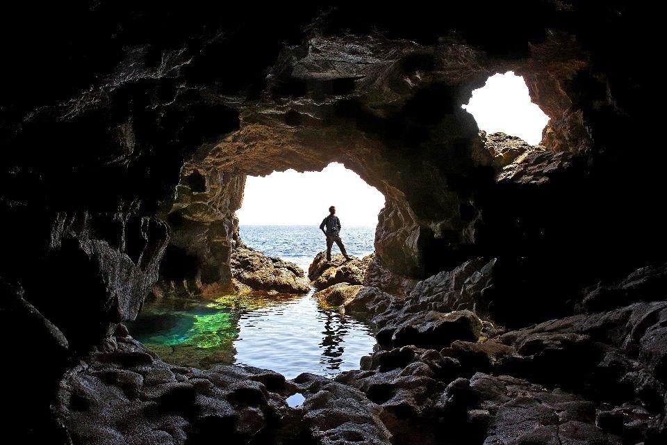 Palmeira und Buracona , Buracona , Kap Verde