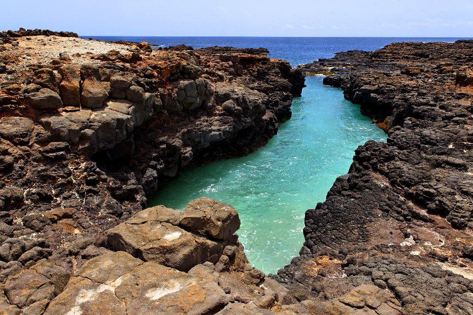 Palmeira e Buracona , Escursione sull'isola di Sal , Capo Verde