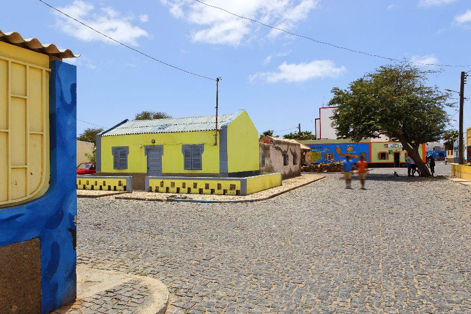 Palmeira und Buracona , Das Dorf Palmeira , Kap Verde