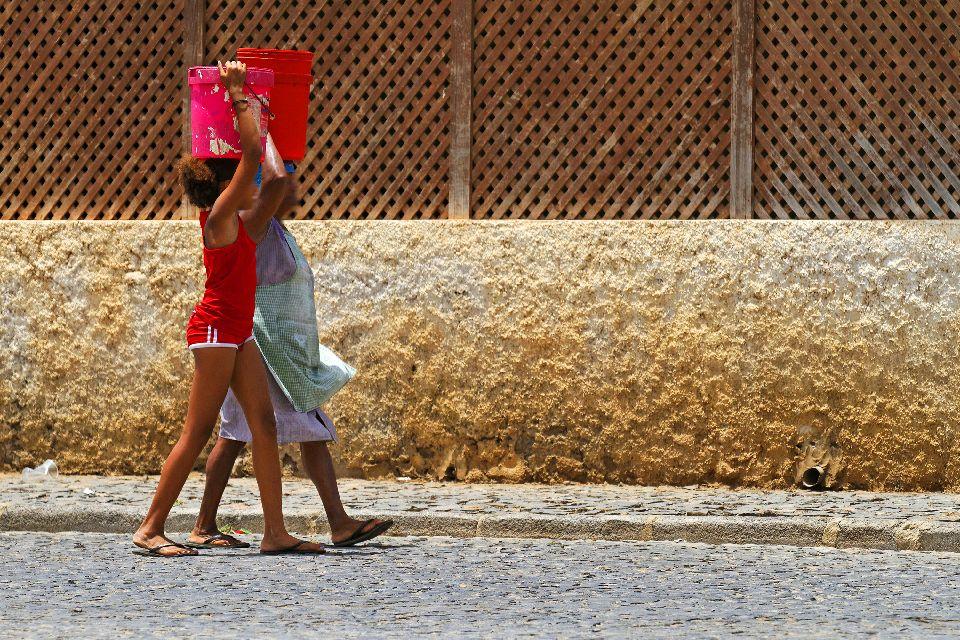 Palmeira und Buracona , In den Straßen von Palmeira , Kap Verde