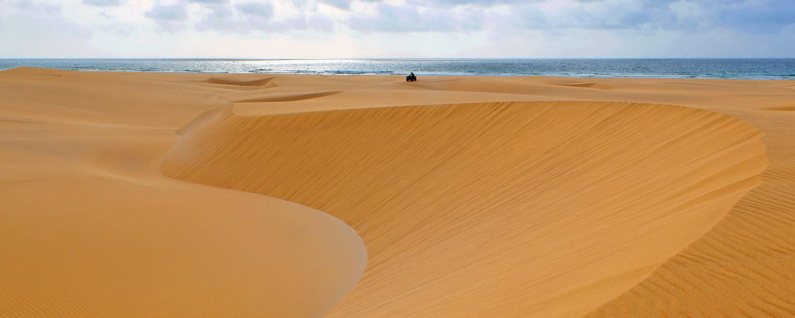 Boa Vista's sand dunes , The Chaves dunes , Cape Verde