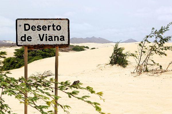 Die Dünen von Boa Vista , Deserto de Viana , Kap Verde