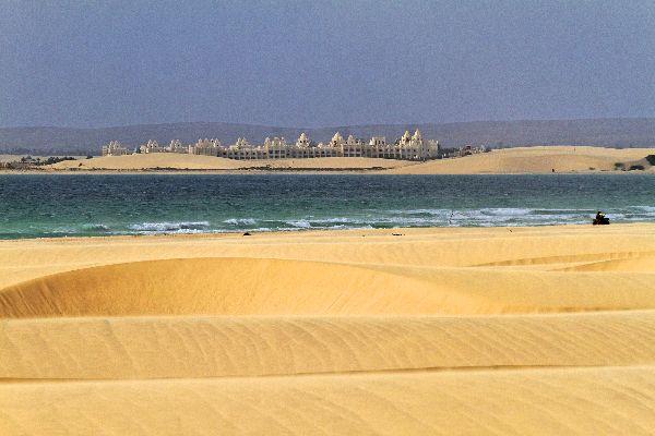 Die Dünen von Boa Vista , Wellige Sandhügel, Dünenmeer , Kap Verde