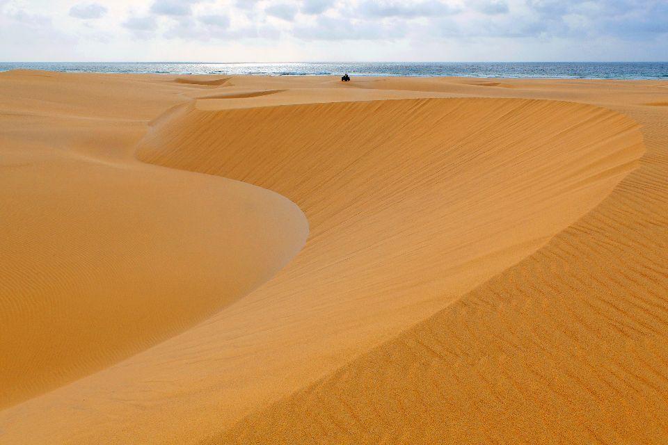 Die Dünen von Boa Vista , Die Dünen von Chaves , Kap Verde