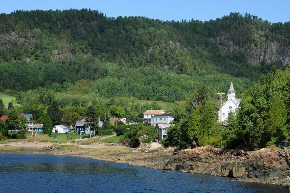 The Saguenay , The villages surrounding Saguenay , Canada