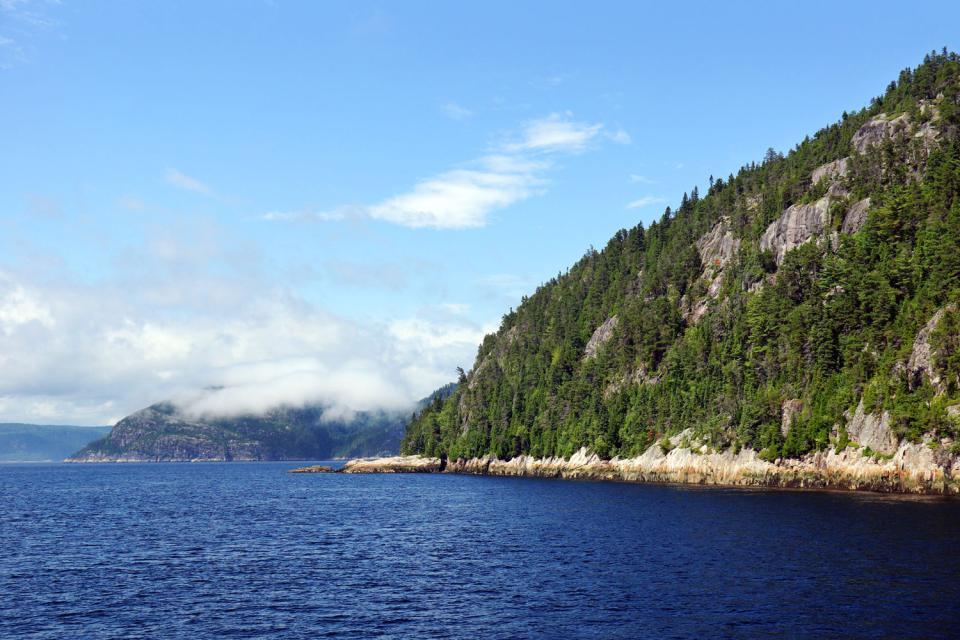 The Saguenay , The Saguenay Fjord, Canada , Canada