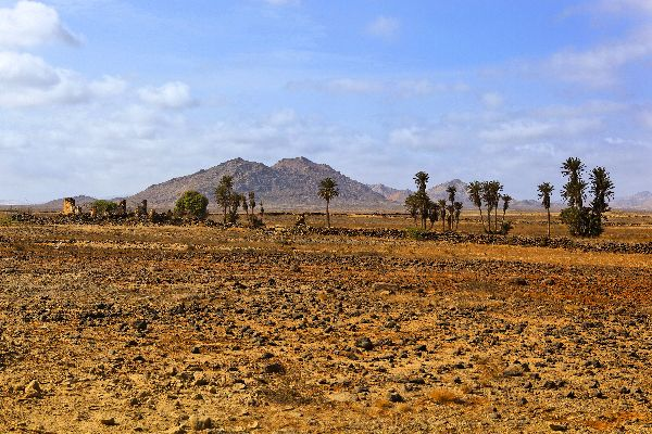 The island of Boa Vista , Boa Vista Island , Cape Verde