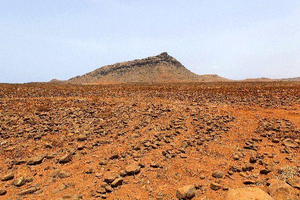 Die Insel Boa Vista , Steinwüste von Boa Vista , Kap Verde