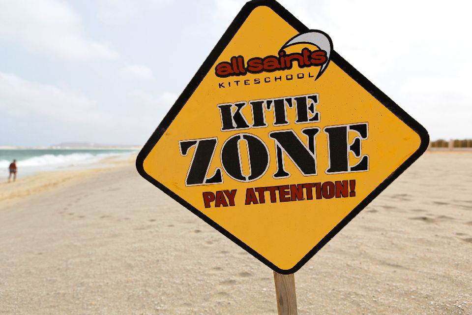 Sports and excursions , Kite zone , Cape Verde