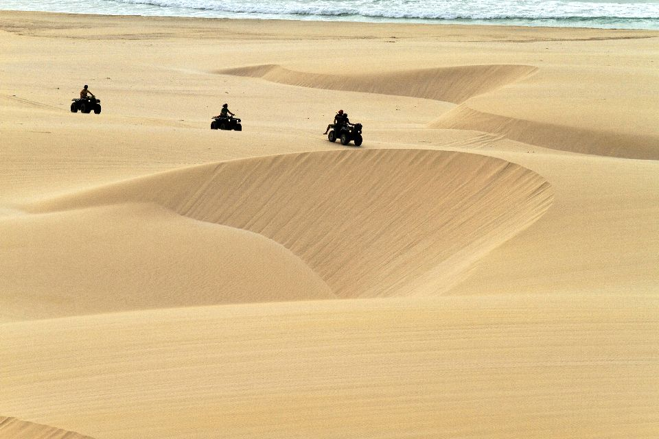 Sports and excursions , Quad biking in the dunes , Cape Verde