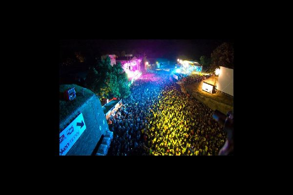 Exit Festival à Novi Sad , Exit Festival in Novi Sad , Serbia