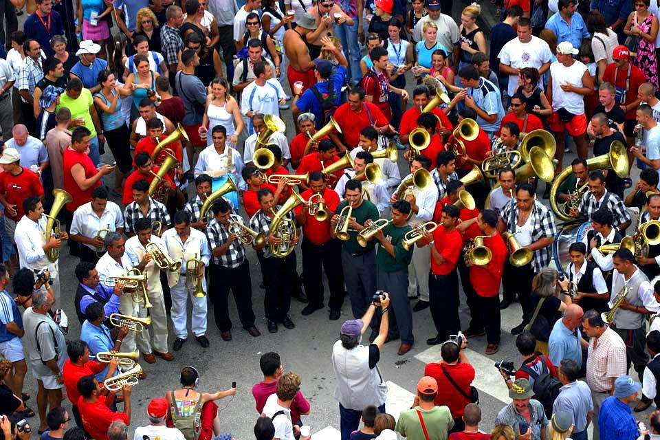 Guca Festival a Guca , Festival di Guca , Serbia