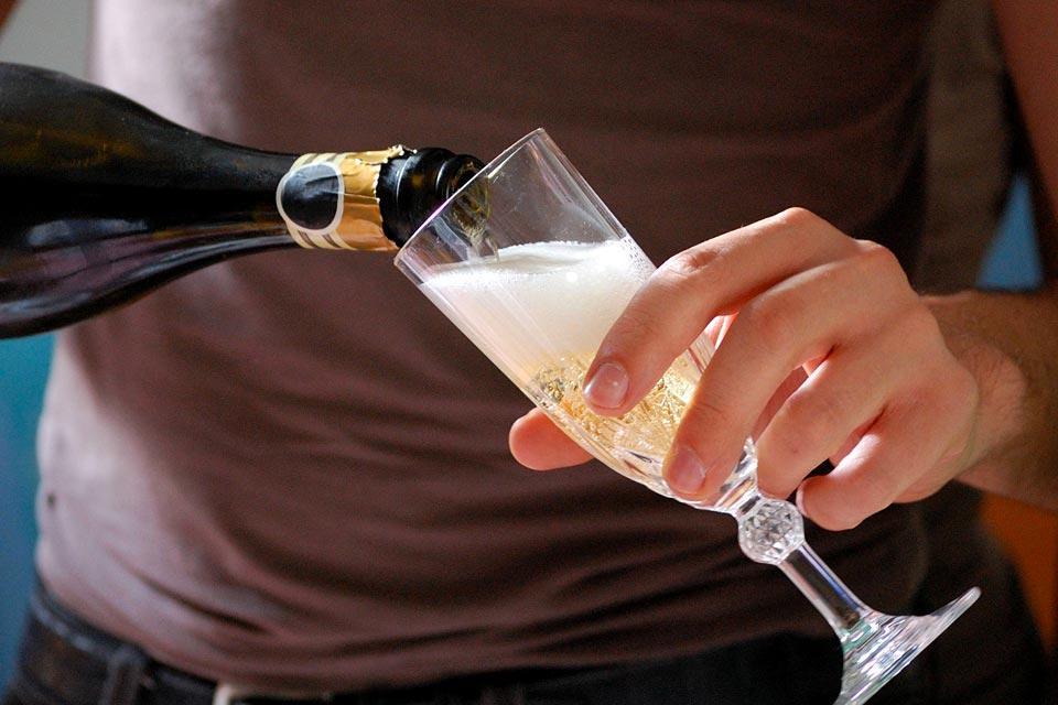 Le champagne , France