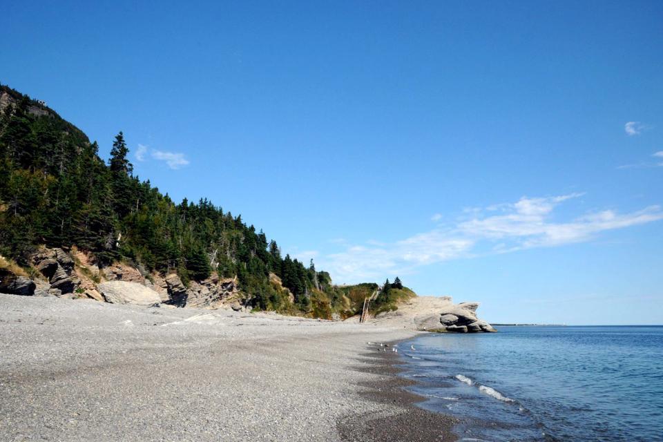 The Gaspésie peninsula , The tip of the Gaspésie region , Canada