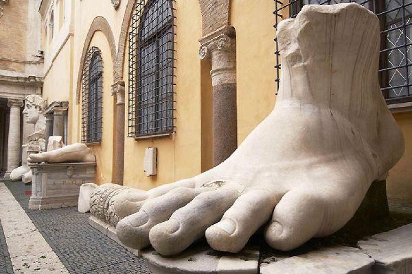 I Musei Vaticani , Palazzo dei Conservatori , Italia