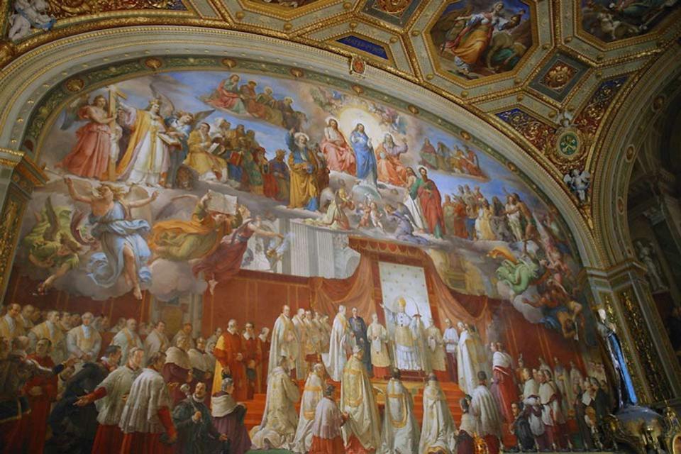 I Musei Vaticani , I dipinti di Raffello , Italia