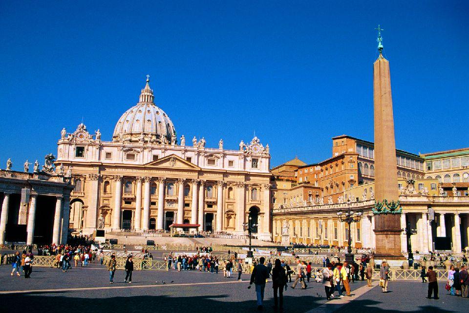 San Pietro , Roma , Basilica di San Pietro in Vaticano , Italia