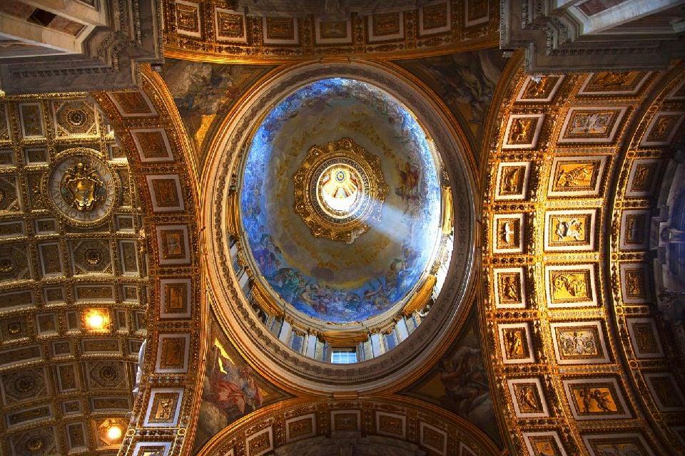 San Pietro , Roma , La cupola , Italia