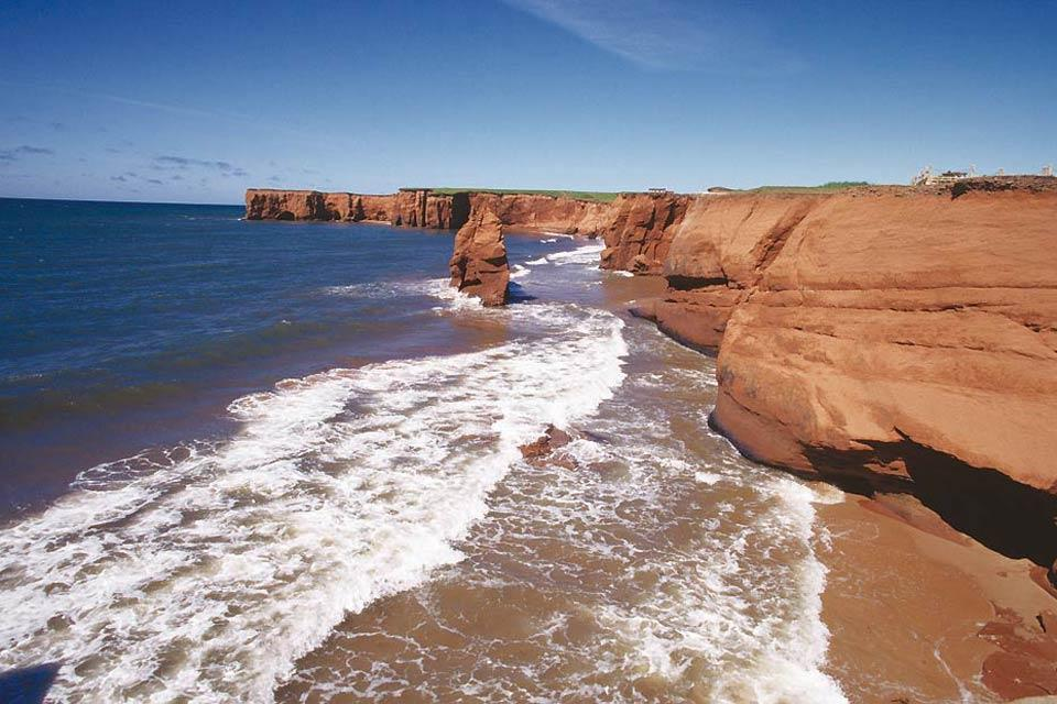 The Madeleine islands , The Magdalen Islands , Canada