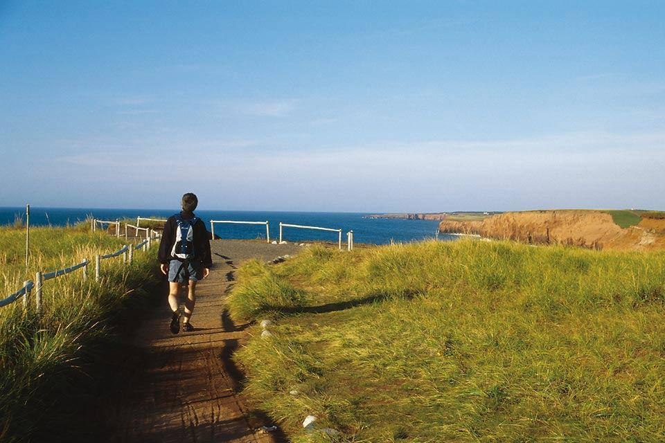 The Madeleine islands , Hikes on the Magdalen Islands , Canada