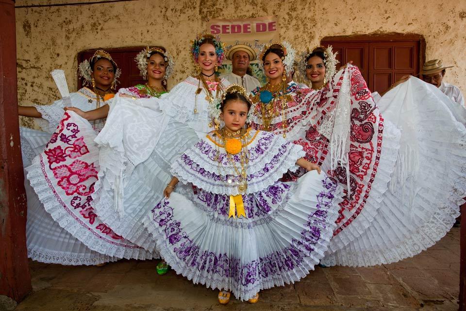 Le Carnaval de Panama , La Pollera , Panama
