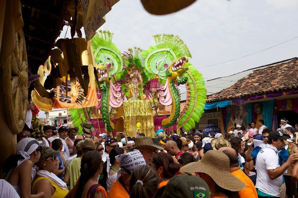 Le Carnaval de Panama , Liesse dans les rues , Panama