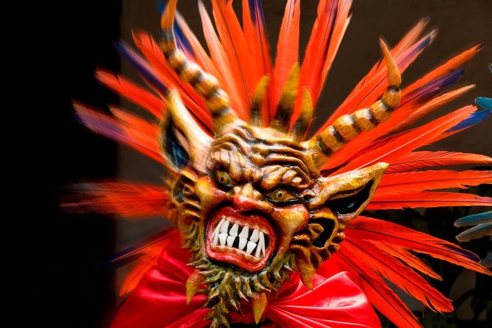 Le Carnaval de Panama , Les danses du Diable , Panama