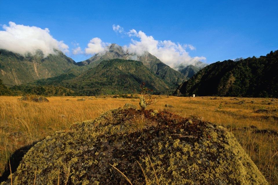 Volcan Baru , Le volcan Baru , Panama
