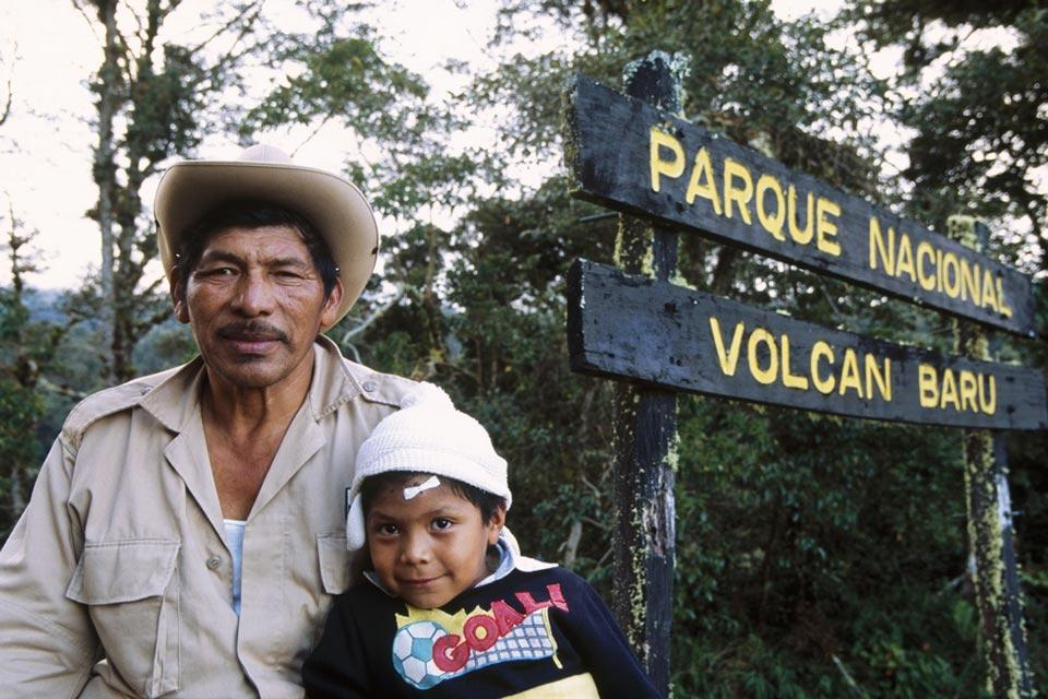 Volcan Baru , Le parc national du volcan Baru , Panama