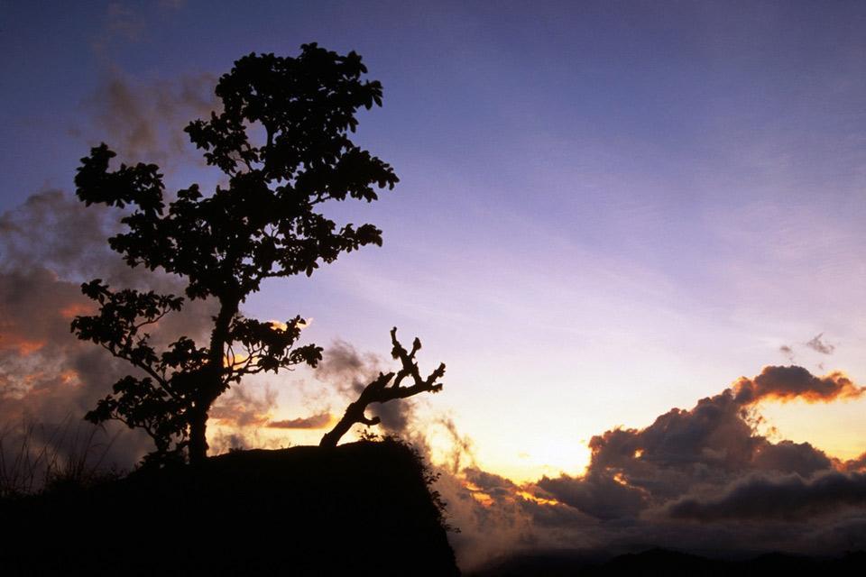 Volcan Baru , Le sommeil du Baru , Panama
