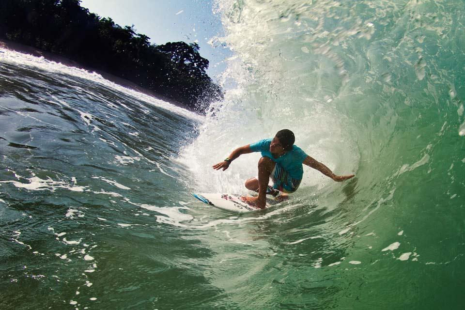 Surf , La côte sud , Panama