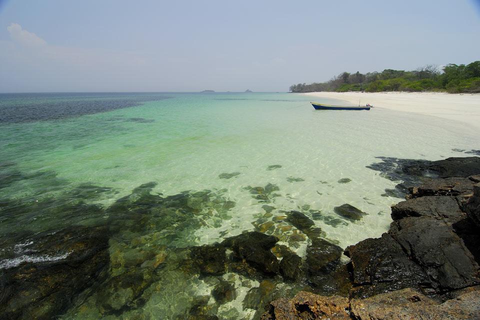 L'archipel de Las Perlas , The Las Perlas archipelago , Panama