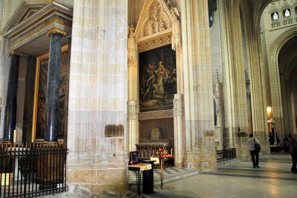 La nave de la catedral de Nantes, Cathédrale Saint-Pierre et Saint-Paul de Nantes, Los monumentos, Nantes, Pais del Loira