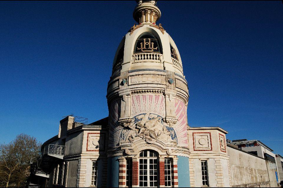 Le Lieu Unique à Nantes , El Lugar Único de Nantes , Francia