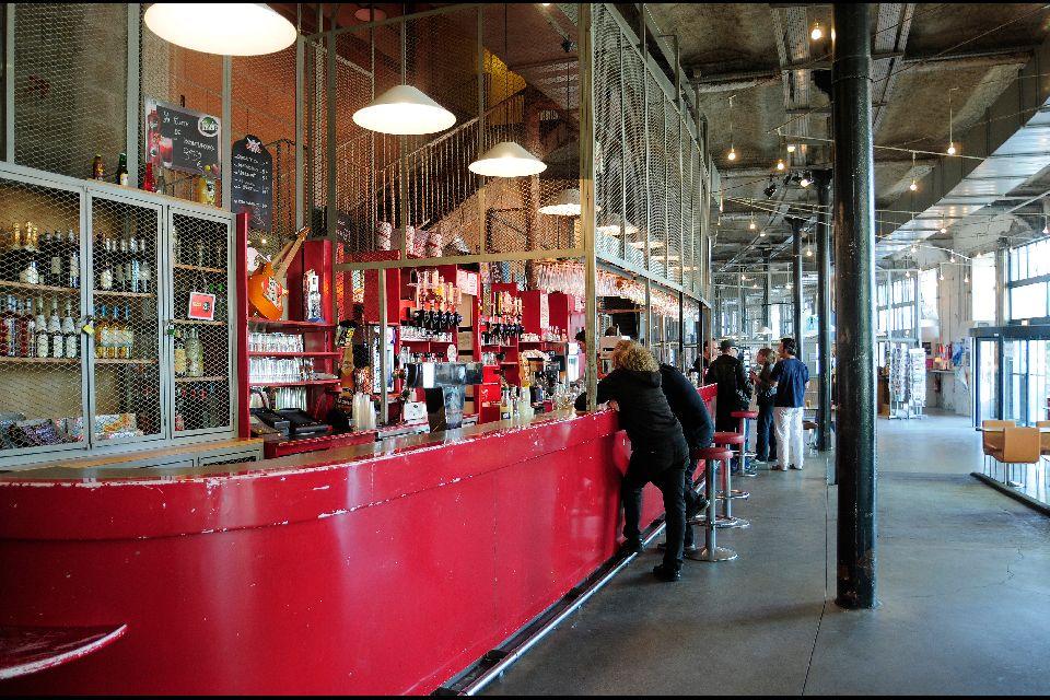 Le Lieu Unique à Nantes , The Lieu Unique bar , France