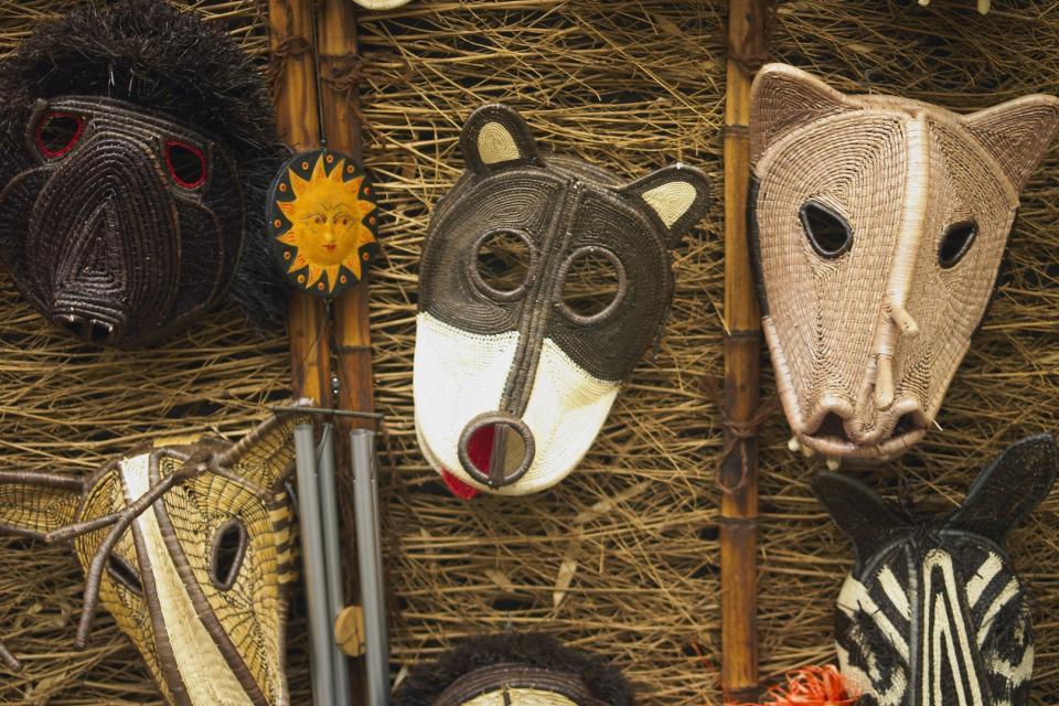 L'art indien , Les masques , Panama