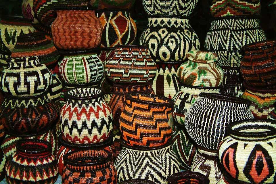 L'art indien , Les matériaux de l'artisanat , Panama