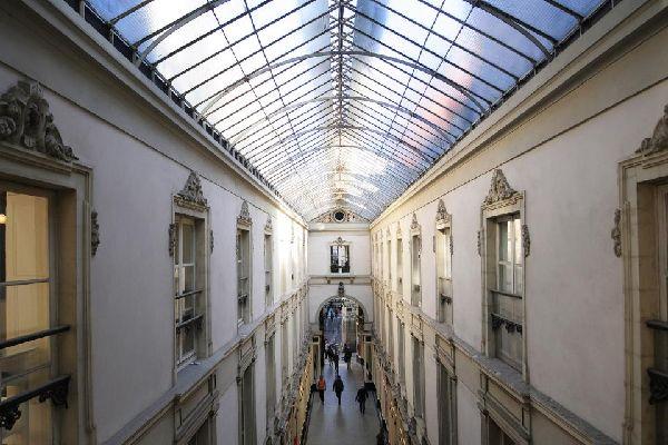 Le Passage Pommeraye à Nantes , Un pasaje privado , Francia