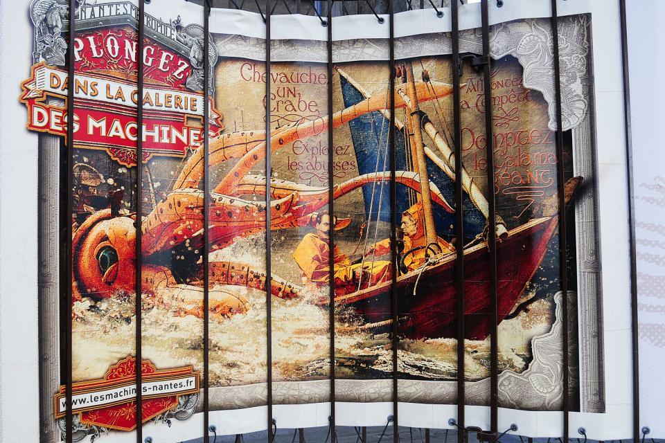 Las maquinas de la isla , La filiación de Julio Verne , Francia