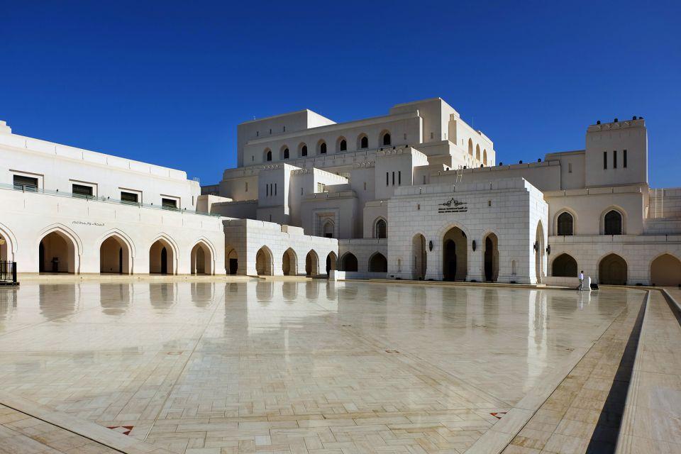 Un edificio majestuoso, Le Royal Opera House Muscat, Arte y cultura, Sultanato de Omán